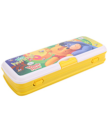 Winnie The Pooh Pencil Box With White Board - Yellow