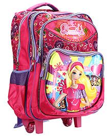 Bags & Baggage Trolley Barbie School Bag - Pink Purple