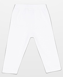 Baby League Solid Colour Leggings - White