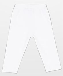 Baby League Solid Colour Leggings - White