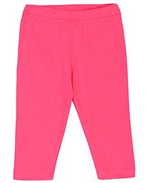 Baby League Solid Colour Leggings - Fuchsia