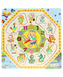 Watch Number Puzzle Multi Color - 8 Pieces