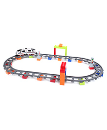 Simulative Locomotive Train Toy Set