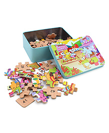 Playmate Puzzle With Numbers - 48 Pieces