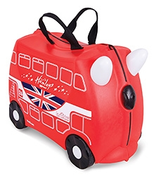 Trunki Ride On Suitcase Hamley's Bus - Red