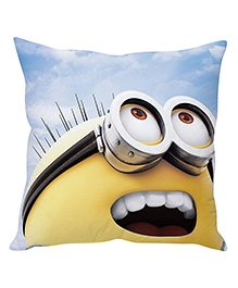 Stybuzz Minion Cushion Cover Yellow And Light Blue - FCC00023
