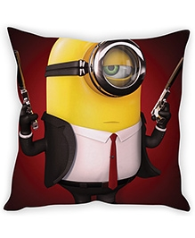 Stybuzz Minion Cushion Cover Red And Yellow - FCCS00038