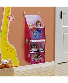 Disney Princess Foldable Hanging Rack - Pink