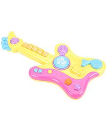 Baby Musical Guitar - Yellow Pink
