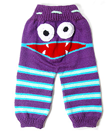 The Original Knit Monster Butts Knitted Pants - Multicoloured