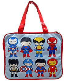 Superheros IPad Case - Blue