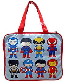 Superheros IPad Case - Blue