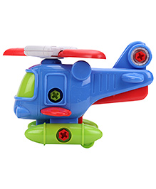 Musical Helicopter Toy - Blue And Green