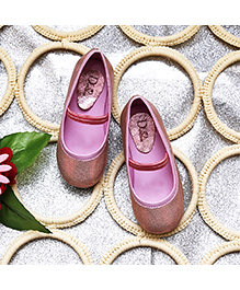 D'chica Shoes Metallic Shoes - Pink