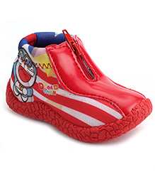 Doraemon Slip-On Casual Shoes - Red