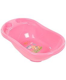 Baby Bath Tub Wish Wing Print - Pink