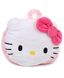 Hello Kitty Plush Bag Light Pink & White - Height 8 Inches