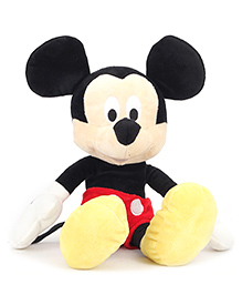 Disney Mickey Mouse Soft Toy Black & Red - Height 12 Inches