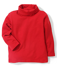 Beebay Full Sleeves Plain Skivvy - Red