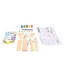 Colorific Wood Worx Jet Fighter Kit