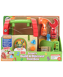 Leap Frog Scout's Build And Discover Tool Box