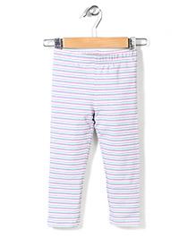 Pumpkin Patch Full Length Stripe Leggings - Multi Colour