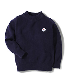 Noddy Original Clothing Full Sleeves Sweater - Navy Blue