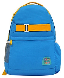 Star Gear Jolly Backpack Blue & Yellow - 18 Inches