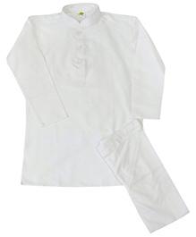 Kurta Set - White