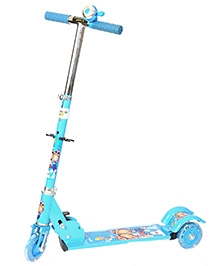 Happykids 3 Wheel Scooter With Bell Blue - ST005B3206