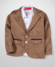 Noddy Original Clothing Coat With Shirt - Brown