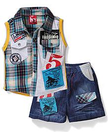 Noddy 3 Piece Clothing Combo Set - Multicolor