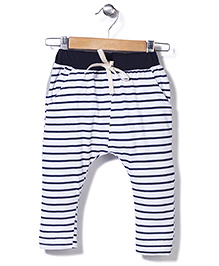 Jolly Jilla Stripes Pants - White