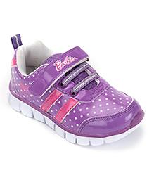 Barbie Casual Shoes Velcro Closure - Purple