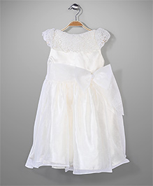 Little Coogie Party Dress - White
