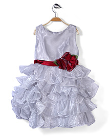 Little Coogie Party Dress - Grey
