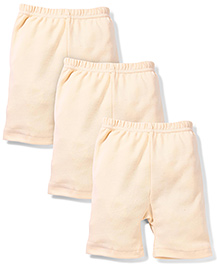 Red Rose Cycling Shorts Pack Of 3 - Cream