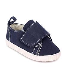 Pumpkin Patch Velcro Shoes - Dark Blue