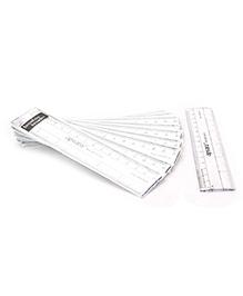 Apsara Plastic Scales Pack Of Ten - 15 cm