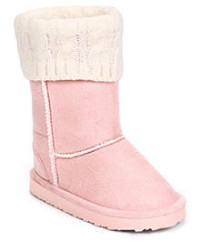 Pumpkin Patch Warmer Boots - Pink