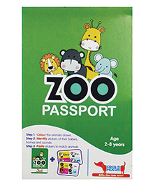Cocomoco Zoo Passport Animals For Kids