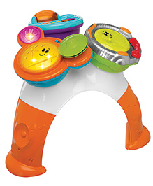 Chicco Music Band Table - Orange And White