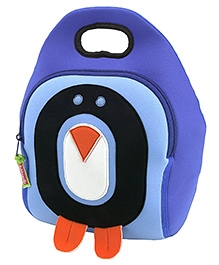 Elefantastik Cold Feet Penguin Lunch Bag - Blue