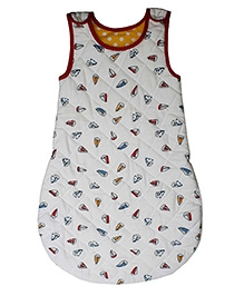 Kadam Baby Lil Sailor Quilted Sleeping Bag - White