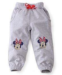 Disney by Babyhug Leggings Minnie Print - Grey
