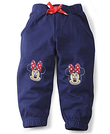 Disney by Babyhug Leggings Minnie Print - Blue