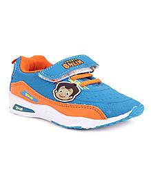 Chhota Bheem Sports Shoes With Velcro Closure - Blue And Orange