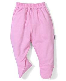 Child World Plain Bootie Leggings - Pink