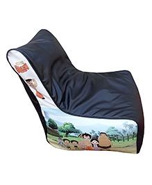 Orka Chhota Bheem Bean Bag Chair Cover Multicolour - XL - 681079