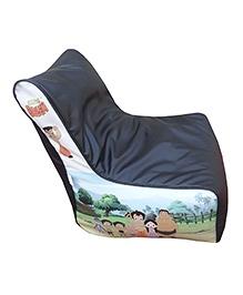 Orka Chhota Bheem Bean Filled Bag Chair Multicolour - XL - 681080